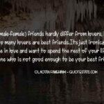 Quotes On Female Best Friend Pinterest