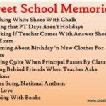 Quotes On School Friends Memories
