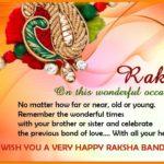 Raksha Bandhan Quotes 2020