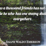 Ralph Waldo Emerson Friendship Quotes Pinterest
