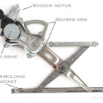 Replacing Car Window Regulator Motor Assembly