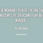 Richard Bach One Quotes Twitter