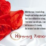 Rose Day Message For Husband Pinterest