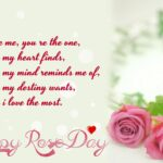 Rose Day Quotes For Him Tumblr