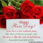 Rose Day Special Card
