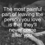 Sad Leaving Quotes Pinterest
