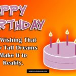 Short Birthday Message Twitter