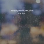 Short Rain Quotes Twitter