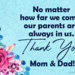 Short Thank You Message For Parents On Graduation Day Facebook