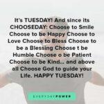 Short Tuesday Quotes Facebook