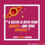 Sister Raksha Bandhan Quotes
