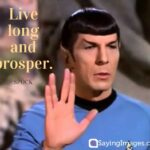 Star Trek Spock Quotes