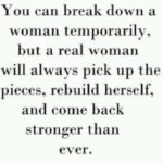 Strong Woman After Break Up Quotes