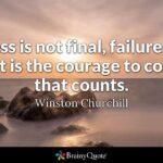 Success Is Not Final Twitter