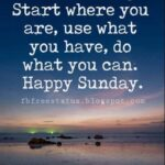 Sunday Morning Motivational Quotes Pinterest