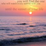 Sunset Love Quotes Facebook