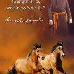 Swami Vivekananda Quotes Strength Is Life Twitter