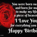 Sweet Birthday Message For Girlfriend Facebook