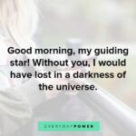 Sweet Morning Quotes For Girlfriend