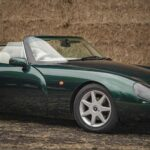 Take a closer look at the TVR Griffith 500 sports car