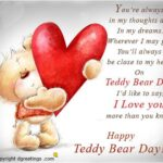 Teddy Day Quotes For Girlfriend Twitter