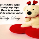 Teddy Day Quotes For Wife Twitter
