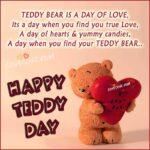 Teddy Day Special Status Facebook