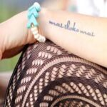 "Temporary Tattoos – ""Trust The Mess"" Manifestation Tattoo"