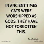 Terry Pratchett Quotes Cats
