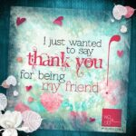 Thank You For Being My Friend Quotes Facebook