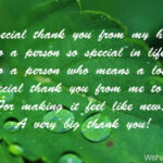 Thank You Quotes For A Special Person Tumblr
