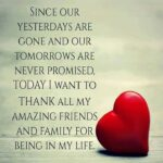 Thank You Quotes For Friends And Family Twitter