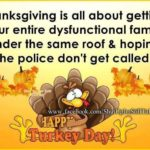 Thanksgiving Family Quotes Funny Pinterest