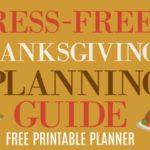 Thanksgiving Planning Guide: Ideas to Help Plan a Thanksgiving Dinner Menu