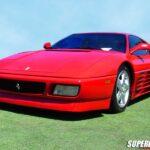 The Ferrari 348 TB and TS Super Car