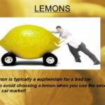 The Lemon Principle and Market Failure