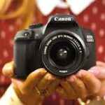 The Menu Option on the Canon EOS 1300D, vs Rebel T6 DSLR Camera