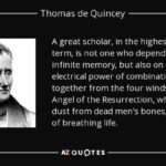Thomas De Quincey Quotes Twitter