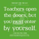 Thought Of The Day About Teachers Pinterest
