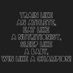 Train Like An Athlete Quotes Tumblr