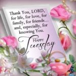Tuesday Inspirational Blessings Facebook