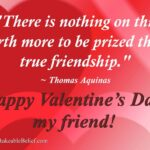 Valentine Day Thoughts For Friends