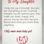 Valentines Day Quotes For My Daughter Twitter
