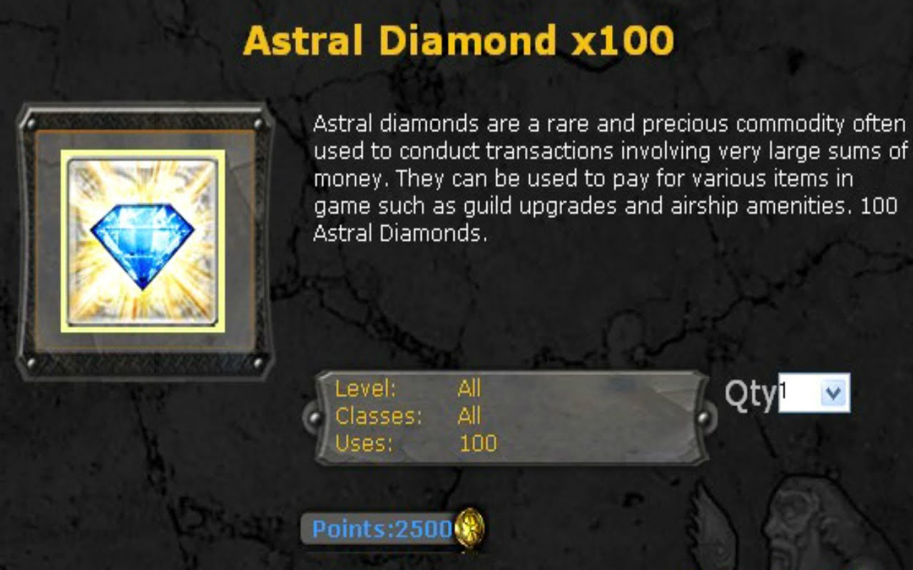 Ways To Earn Astral Diamonds In Neverwinter Buy Now