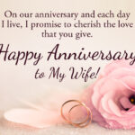Wedding Anniversary Words