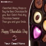 Wishes Of Chocolate Day Twitter
