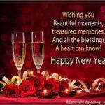 Wishing Someone A Happy New Year Pinterest