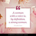 Women's Day Thought Pinterest