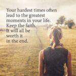 Words Of Faith And Encouragement Pinterest