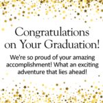 Words To Say On Graduation Card